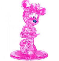 3D Crystal Puzzle Minnie Mouse, 44pcs Пазл Минни Маус, 44 детали, фото 1