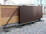Ворота откатные автоматические, фото 2