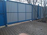 Ворота откатные автоматические, фото 3