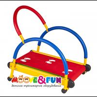 """Тренажер детский механический """"Беговая дорожка с диском-твист"""" (SH-01-T)"""