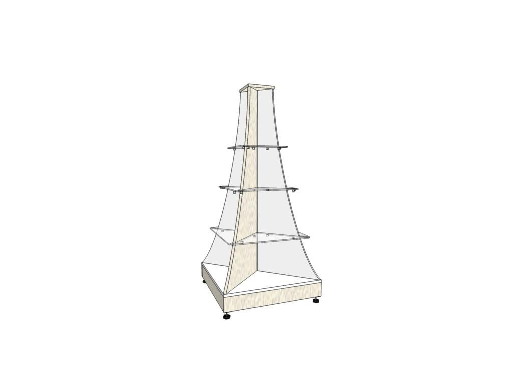 Пирамида 1,3*0,6*0,6