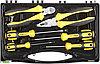 """Набор слесарно-монтажного инструмента STAYER """"PROFI"""" ULTRA: 4 отвертки, плоскогубцы и бокорезы, 6 предмета"""