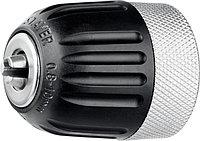 """Патрон STAYER """"PROFESSIONAL"""" быстрозажимной, 10 мм, с фиксатором зажима сверла, для дрели, комбинированный корпус, посадочная резьба 3/8"""", Д 0,8-10мм"""