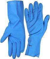 Перчатки ЗУБР нитриловые, повышенной прочности, с х/б напылением, размер S, 11255-S