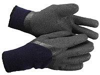 Перчатки утепленные Сибирь, акриловые с вспененным латексным покрытием, двойные, L-XL, ЗУБР Профессионал 11466-XL