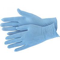Перчатки хозяйственные нитриловые 100 шт., XL// Elfe