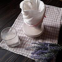 Лавсан. Лавсановый мешок для растительного молочка