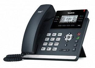 IP телефон Yealink SIP-T42S, SIP 12 аккаунтов, BLF, PoE, GigE, без БП