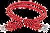 ITK Коммутационный шнур (патч-корд), кат.5Е UTP, 1,5м, красный