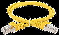 ITK Коммутационный шнур (патч-корд), кат.5Е UTP, 1,5м, желтый, фото 1