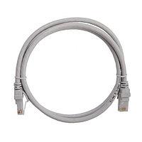 ITK Коммутационный шнур (патч-корд), кат.5Е FTP, LSZH, 1,5м, серый, фото 1