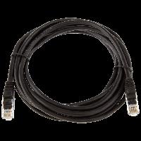 ITK Коммутационный шнур (патч-корд), кат.5Е FTP, 1,5м, черный, фото 1