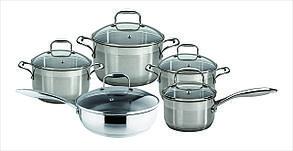 Набор посуды granhel Stainless steel PC019 10 предметов