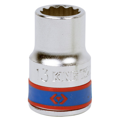 "Головка торцевая стандартная двенадцатигранная 1/2"", 13 мм KING TONY 433013M"