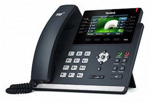 IP телефон Yealink  SIP-T46S ,цветной экран,16 SIP аккаунтов, BLF, PoE, GigE, без БП