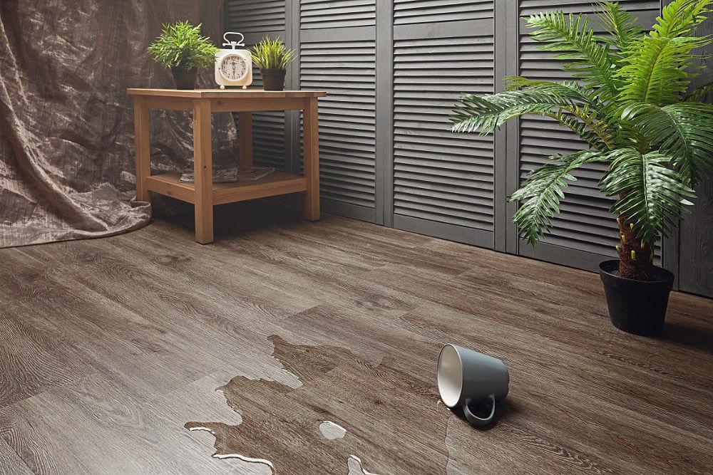 ПВХ плитка Aqua-floor коллекция Classic AF5517 GLUE