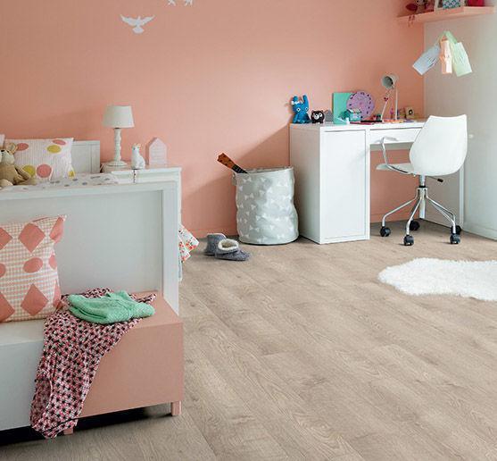 ПВХ плитка Quick Step коллекция Balance Click Жемчужный серо-коричневый дуб