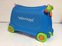 Детский чемодан на колесах для мальчика, с 3-х до 6-и лет. Высота 30 см,длина 52 см, ширина 20 см., фото 1