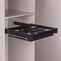 Ящик с многофункциональной вставкой,цвет  черный, 60 см