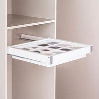 Ящик с многофункциональной вставкой, цвет белый, 60 см