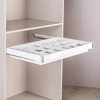 Ящик с многофункциональной вставкой, цвет белый, 90 см