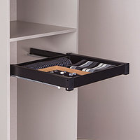 Выдвижной ящик для аксессуаров, цвет  черный, 60 см