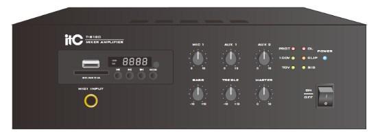 ITC-Audio T-B120 Мини микшерный усилитель