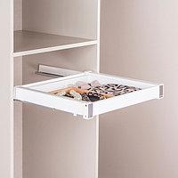 Выдвижной ящик для аксессуаров, цвет белый, 60 см