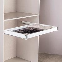 Выдвижной ящик для аксессуаров, цвет белый, 90 см