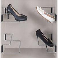 Держатель обуви раздвижной, цвет хром/черный, 420-700 мм, фото 1