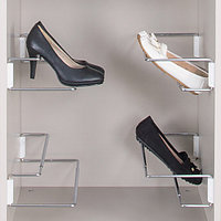 Держатель обуви раздвижной, хром/белый, 420-700 мм, фото 1