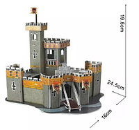 3D Puzzle LingLeSi Fantasy Castle, 37pcs Пазл Замок, 37 деталей, фото 1