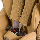Автокресло Happy Baby 9-36 кг Mustang Isofix Beige, фото 5