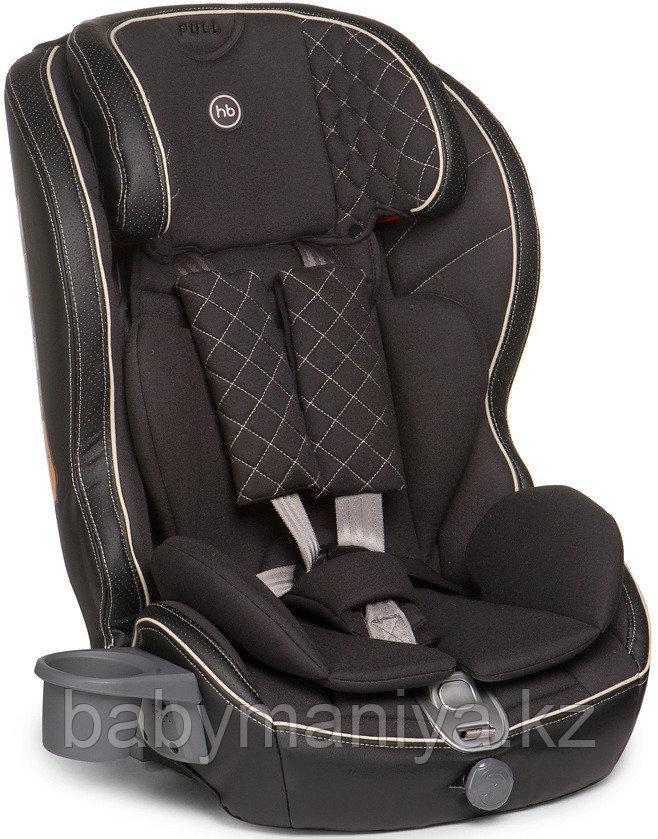 Автокресло Happy Baby 9-36 кг Mustang Isofix Black