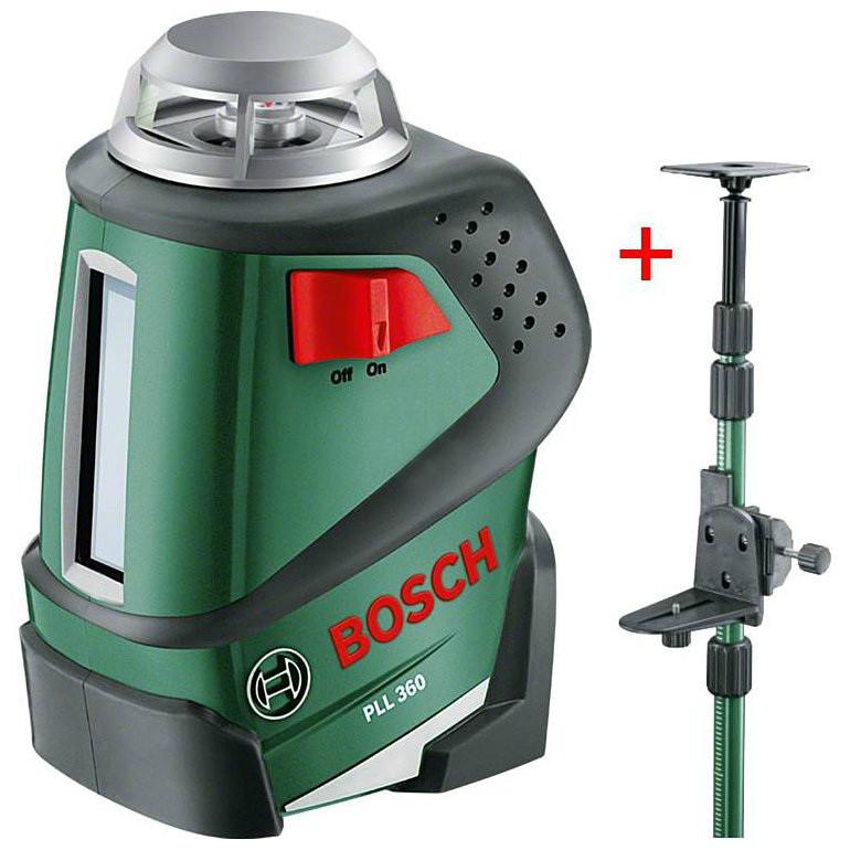 (0603663003) Лазерный нивелир Bosch PLL 360 + штанга TP 320