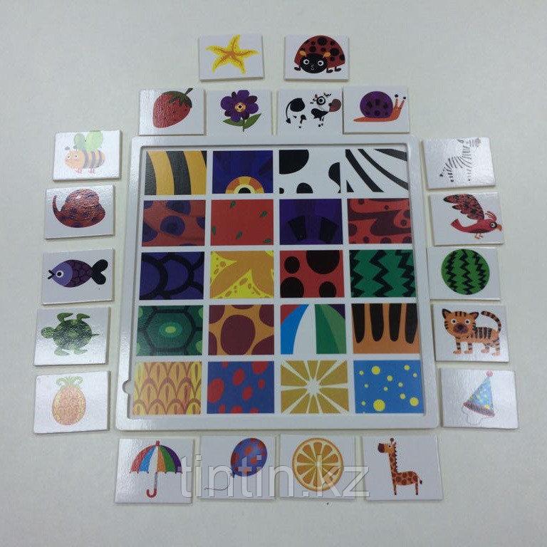 Развивающая игра — Найди по фрагменту