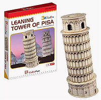 3D Puzzle LingLeSi Leaning Tower of Pisa, 8pcs Пазл Пизанская башня, 8 деталей