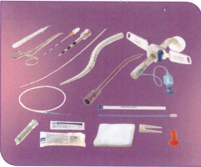 Набор для чрезкожной трахеостомии  UniPerc 8, для пациентов с ожирением, «бычьей» шеей и другими вар