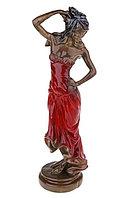 Сувенир Девушка с розой
