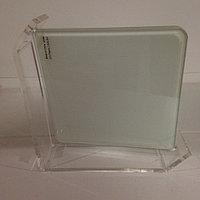 Стеклянная рамка для сублимации 17 см (acrylic frame) матовая