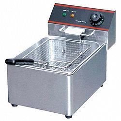 Фритюрница настольная электрическая HEF-6L (275х430х300 мм, 6 л, 2,5кВт, 220В) 1 емкость
