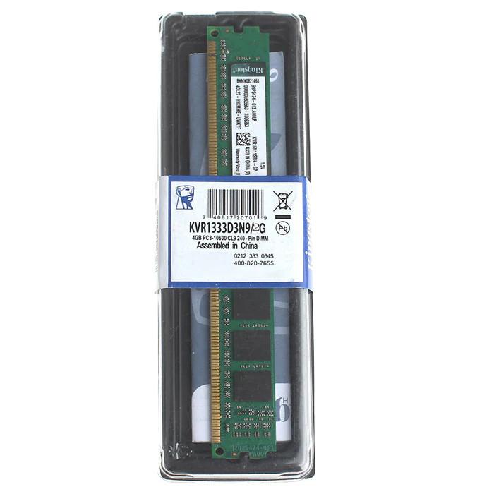 Оперативная память Kingston KVR1333D3N9/4G 4ГБ DDR3 1333MHz