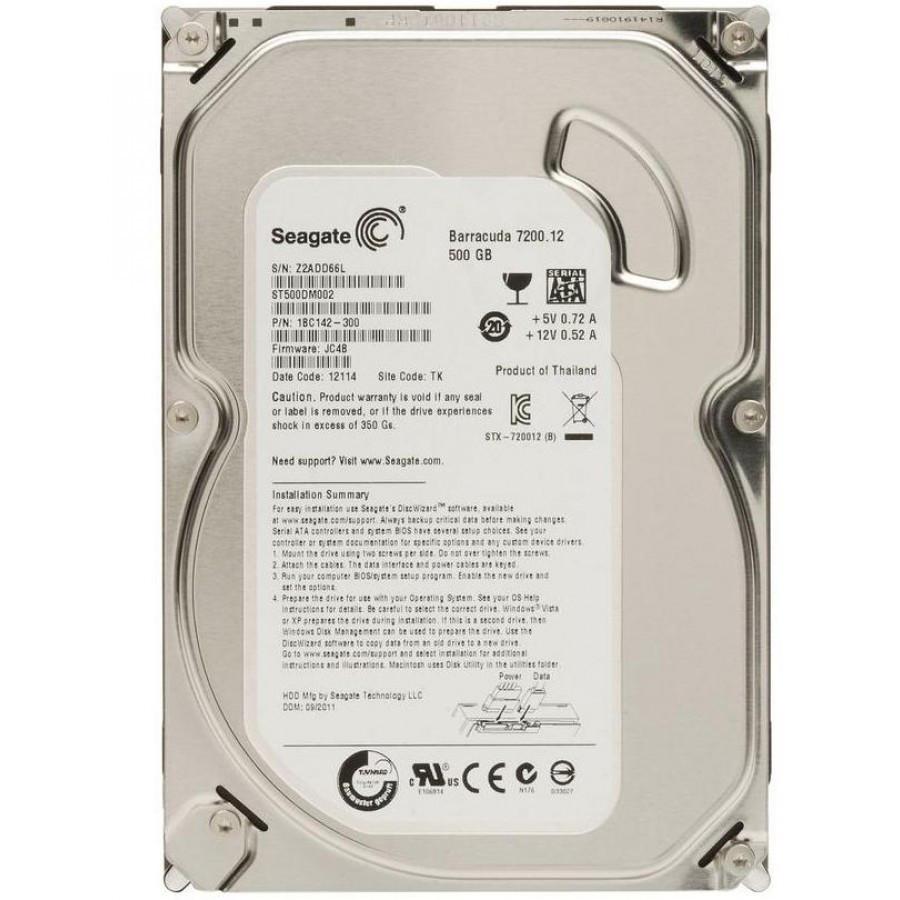 Жесткий диск Seagate ST500DM002 500Гб
