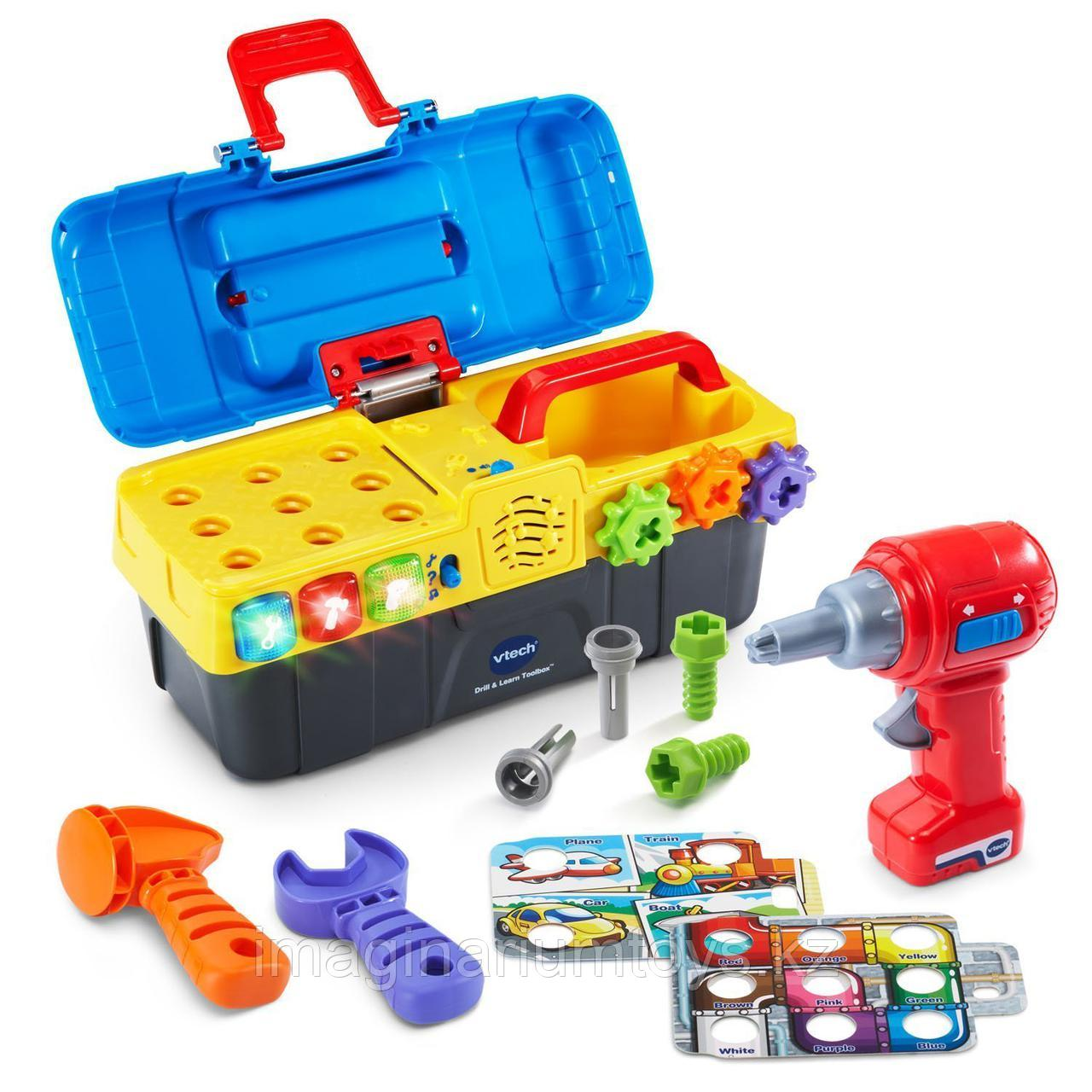 Интерактивная развивающая игрушка «Игровой набор с дрелью» VTech