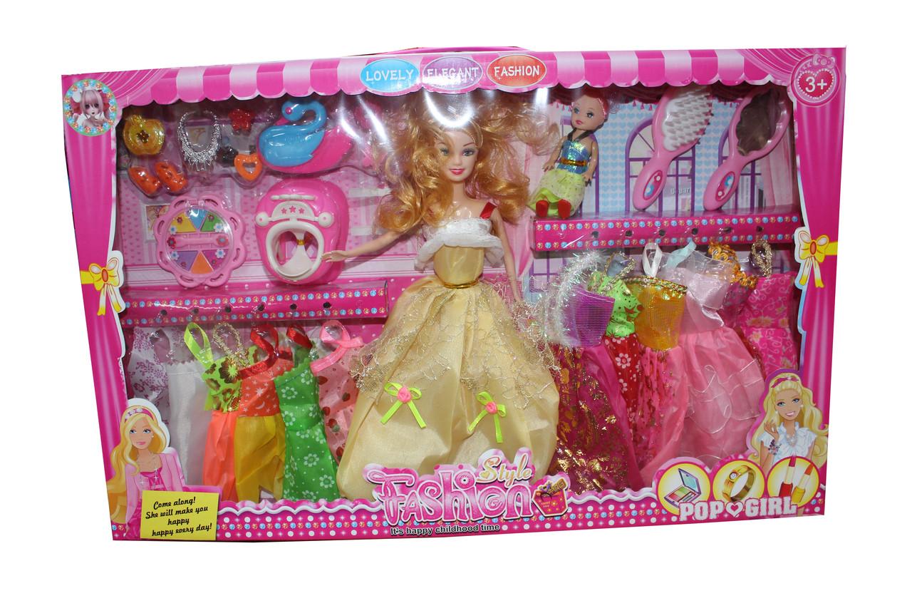 Барби гардероб с дочкой 855Е