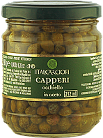 Каперсы italcarciofi 7/8 в винном уксусе 212мл