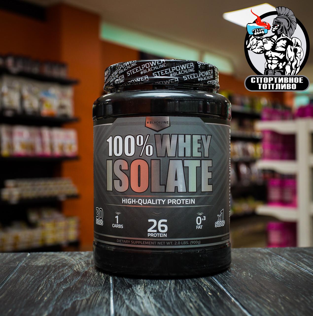 "Изолят сывороточного белка от BlackLine ""100% Whey Isolate"" 900гр/30порций"