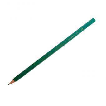 Карандаш простой НВ, без ластика, зелёный пластиковый корпус. SPONSOR