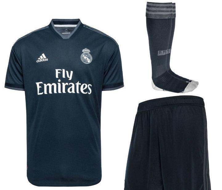 Футбольная форма  (Real Madrid)-оригинал18/19
