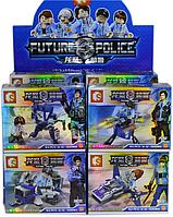9140 Конст. Future Police Герой с машинами 8 видов из 16шт цена за 1шт 11*13, фото 1